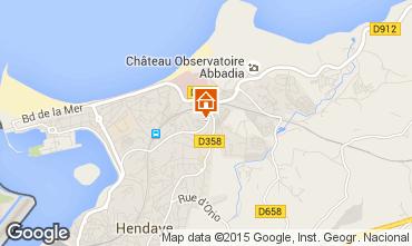 Kaart Hendaye Appartement 15735