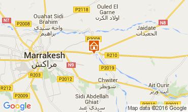 Kaart Marrakech Villa 72989
