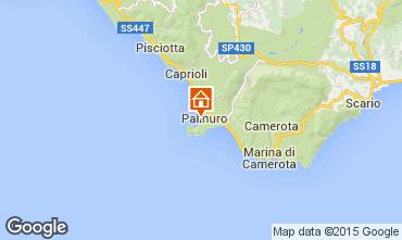 Kaart Palinuro Appartement 96680