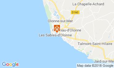 Kaart Les  Sables d'Olonne Huis 117483