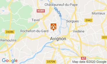 Kaart Avignon Villa 109138