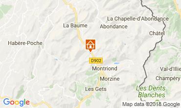 Kaart Morzine Chalet 101488