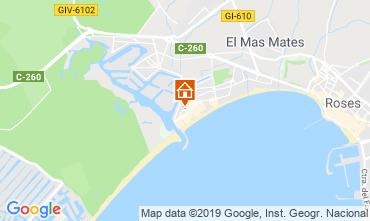 Kaart Empuriabrava Huis 108722