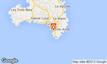 Kaart Sainte Anne (Martinique) Studio 93994