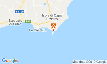 Kaart Isola di Capo Rizzuto Appartement 29262