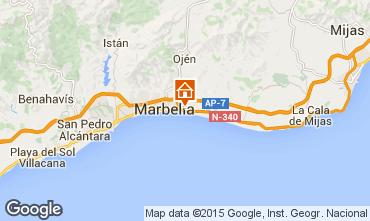 Kaart Marbella Villa 64346