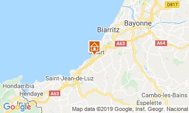 Kaart Biarritz Huis 6366
