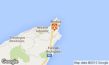 Kaart Rhodos Villa 98836