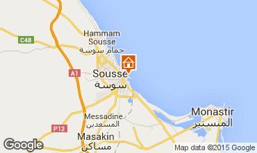 Kaart Sousse Appartement 25792