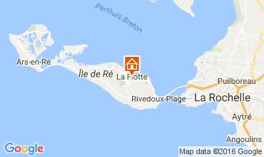 Kaart La Flotte en Ré Huis 106733