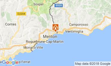 Kaart Menton Appartement 104588