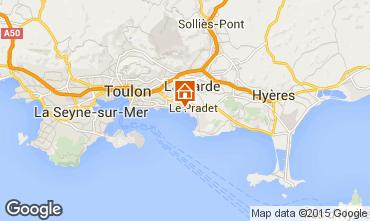 Kaart Toulon Bungalow 5844
