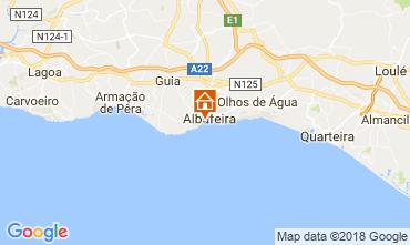 Kaart Albufeira Villa 114694