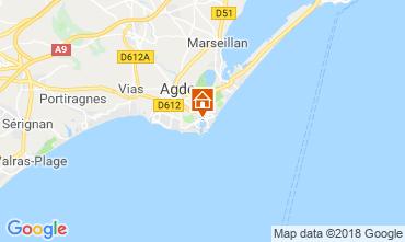Kaart Cap d'Agde Studio 117600