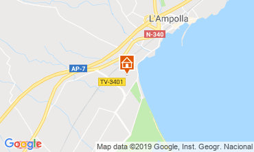 Kaart L'Ampolla Huis 118389