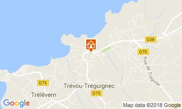 Kaart Perros-Guirec Appartement 114258