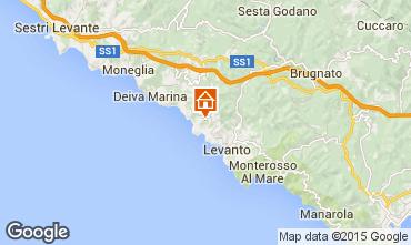 Kaart Bonassola Huis 83335