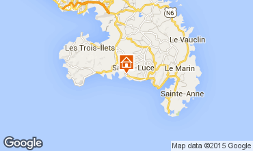 Kaart Sainte Luce Studio 69054