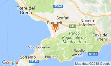 Kaart Pompei Appartement 23651