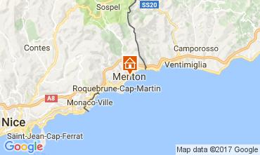 Kaart Menton Appartement 107752