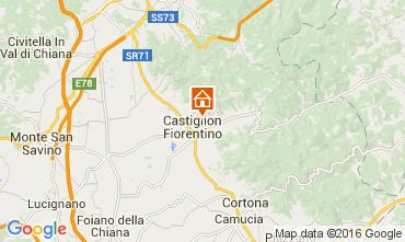 Kaart Arezzo Villa 11865