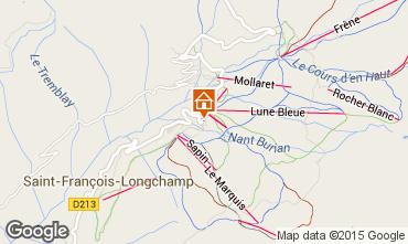 Kaart Saint François Longchamp Appartement 64015