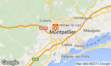 Kaart Montpellier Villa 76051