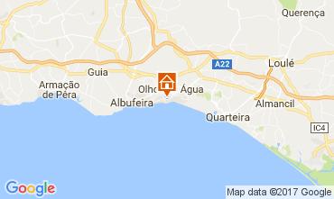 Kaart Albufeira Villa 109214