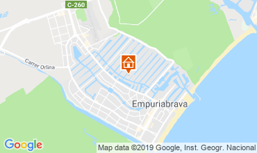 Kaart Empuriabrava Villa 115879