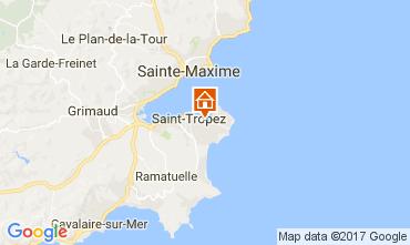 Kaart Saint Tropez Villa 111888