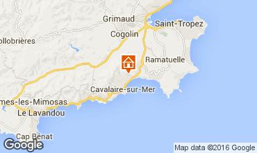 Kaart Cavalaire-sur-Mer Villa 102507