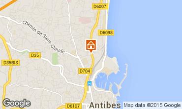 Kaart Antibes Studio 78231