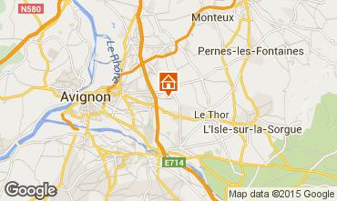 Kaart Avignon Vakantiehuis 83431