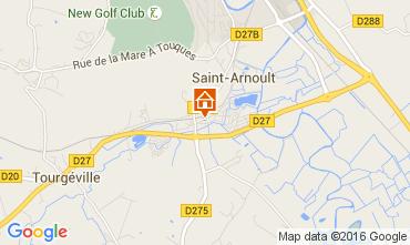 Kaart Deauville Stacaravan 7630
