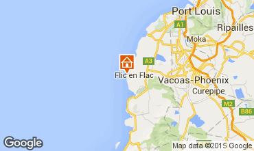 Kaart Flic-en-Flac Appartement 73918