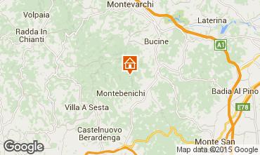 Kaart Siena Villa 75874