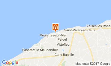 Kaart Saint Valéry en Caux Huis 80886