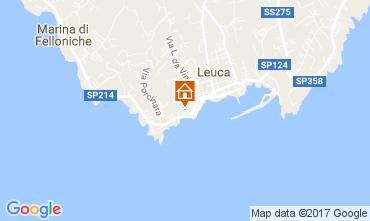Kaart Santa Maria di Leuca Appartement 78687
