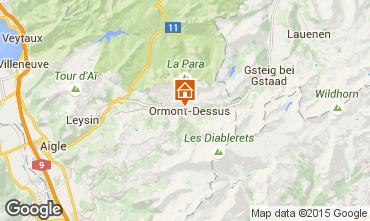 Kaart Les Diablerets Appartement 4732