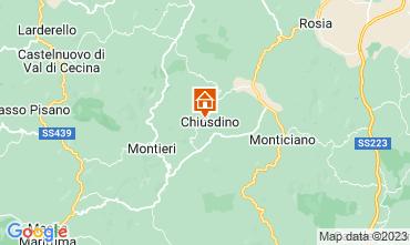 Kaart San Gimignano Appartement 73261