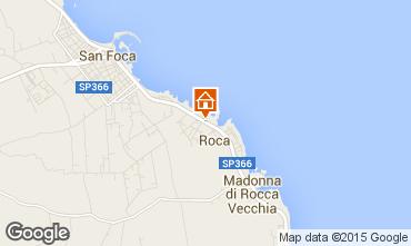 Kaart San Foca Appartement 96428
