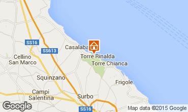 Kaart Lecce Villa 78308