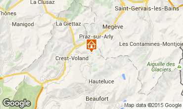 Kaart Notre Dame de Bellecombe Chalet 90657