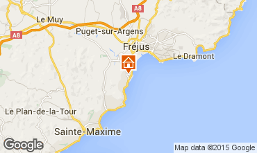 Kaart Saint Aygulf Stacaravan 52348