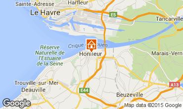Kaart Honfleur Appartement 46803