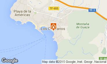 Kaart Los Cristianos Studio 66110