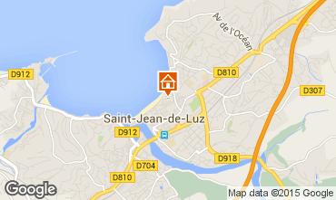 Kaart Saint Jean de Luz Appartement 89774