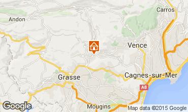 Kaart Cannes Villa 81732