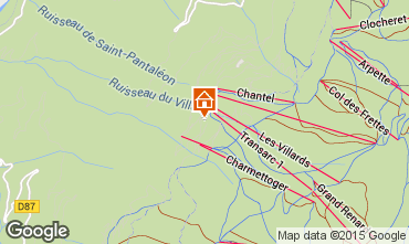 Kaart Les Arcs Appartement 330