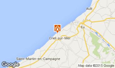 Kaart Le Tréport Huis 98472